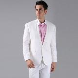Jual Manzone Stelan Jas Pria Dan Celana Eksklusif Putih Original