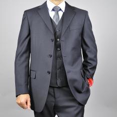 Spesifikasi Manzone Stelan Jas Vest Celana Pria Modern Eksklusif Abu Abu Manzone Terbaru