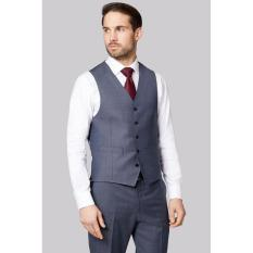 Harga Manzone Vest Dan Celana Pria Modern Elegant Grey Asli