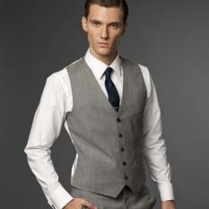 Iklan Manzone Vest Elegant Design Cool Gentlemen Abu Abu