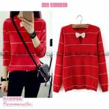 Harga Marchel Ribbon Neck Merah Original