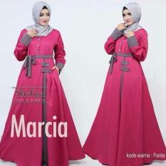 MARCIA MAXI (PINK) /DRESS KEREN / DRESS CANTIK /DRESS MURAH BANGET