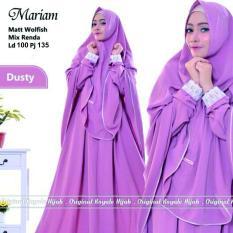 Mariam syari Dusty dress gamis ANS RF