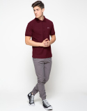 Review Mark Inc Polo Shirt Maroon Red Di Jawa Barat