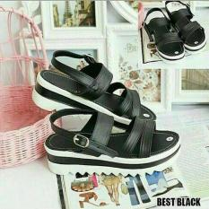 Harga Marlee Akt 32 Platform Sandal Rio Black Sol Coklat Marlee Jawa Timur