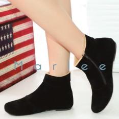 Marlee BKD-02 Sepatu Boots Wanita - Hitam