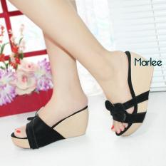 Marlee Diana Wedges Sandal Wanita DK-16