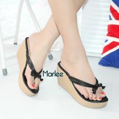 Marlee Flip Flop Wedges Sandal Wanita CC-11