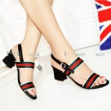 Promo Marlee Mid Heels Shoes Wanita Jn 12 Hitam Akhir Tahun