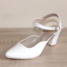 Spesifikasi Marlee Pss 703 Sepatu Heels Wanita Putih Terbaik