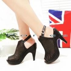 Toko Marlee Pump Shoes Toe Angkle Strap High Heels Jjt 26 Yang Bisa Kredit