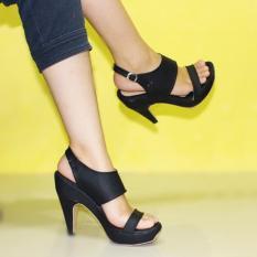 Review Marlee Rt 16 Woman Heels Shoes Hitam Terbaru