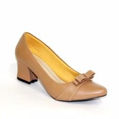 Harga Marlee Sepatu Pantofel Wanita Block Heels Pta 02 Moca Marlee Baru