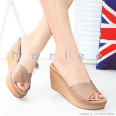 Marlee Wedges Sandal BB-08 - Moca