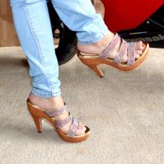 Marlee Woman Heels Sandal RT-17 Tan