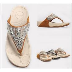 Harga Marlee Zh115 1 Y Strap Wedges Sandal Impor Tan