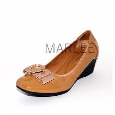 Jual Marlee Zp 128 Pantofel Shoes Impor Coklat Muda Lengkap