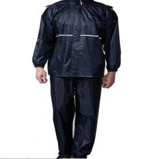 Marlow Jean Jas Hujan Jaket Hoodie Waterproof Rain Coat Berkualitas - XXXL