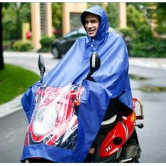 Marlow Jean Oxford Motorcycle Waterproof Rain Coat / Jas Hujan - Biru