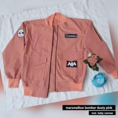 MARSMELLO BOMBER DUSTY PINK