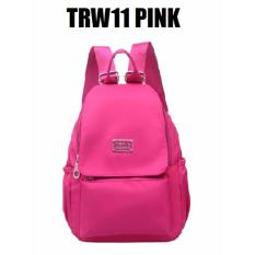 Toko Martin Versa Tas Trw11 Backpack Ransel Wanita Kanvas Nylon Pink Termurah Di Dki Jakarta