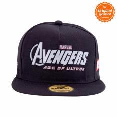 Marvel Snapback Avengers Age Of Ultron Hitam Original