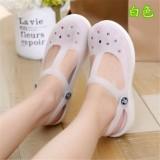 Beli Mary Jane Kasual S Plastik Sandal Pantai Sepatu Berlubang Putih Sepatu Wanita Sendal Wanita Murah Tiongkok