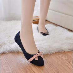 Maryjanes Black Flatshoes With Bowknot