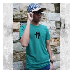 Kaos Distro Pria Lengan Pendek Branded MASAHIRO CLOTH Motif TWO TONE .