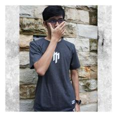 Kaos Distro Pria Lengan Pendek Branded MASAHIRO CLOTH Motif TWO TONE HijauIDR140000