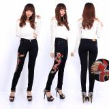 Spesifikasi Master Jeans Celana Wanita Bordiran Naga Yg Baik