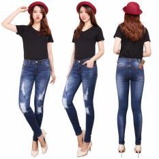 Harga Master Jeans Celana Wanita Sobek Puring Onr Yang Murah
