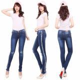 Spesifikasi Master Jeans Celana Wanita Sobek Tembus Rawis List Beserta Harganya