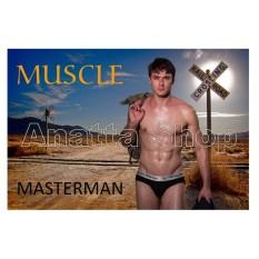 Spesifikasi Masterman Brief Muscle Isi 3 Baru