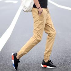 Celana Pensil Pria Remaja Celana SMA Siswa (6018 Coklat Muda)
