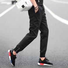Celana Pensil Pria Remaja Celana SMA Siswa (6018 Hitam)