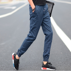 Celana Pensil Pria Remaja Celana SMA Siswa (6018 Ringan Biru)