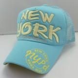 Beli Orang Trendi Topi Matahari Bordir Topi Pelindung Sinar Matahari Jaring Bernapas Musim Panas Segar Biru Pakai Kartu Kredit