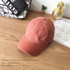 Harga Masuknya Orang Korea Fashion Style Denim Dicuci Melengkung Topi Topi Bisbol Topi Topi Oranye Lengkap