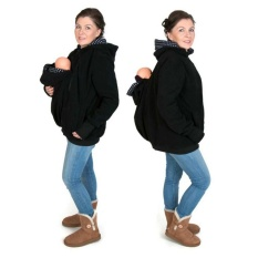 Maternity Mom Jacket Kangaroo Baby Carrier hoodies Pregnant Outerwear Coat Warm - intl