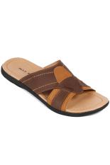 Max Baghi Sandal Laki-laki WWM 3811 Coklat