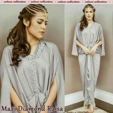 Maxi Diamond Abu Fashion Wanita Dres Baju Pesta Gamis Kaftan