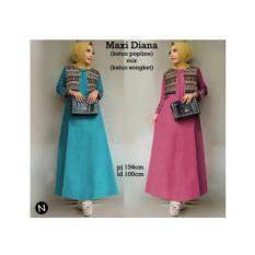 maxi-dress-naura-busana-muslim-wanita-longdress-baju-gamis-muslimah-5186-50802973-f38b6e6d314cbbf1038d2906e7321b67-catalog_233 10 List Harga Busana Muslim Naura Termurah waktu ini