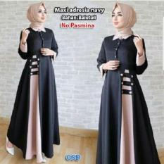 Maxi wanita / gamis Dress / Baju muslim / Baju wanita / Gamis fashion / maxi Adresia