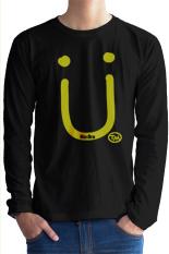 Spesifikasi Maximum Bro T Shirt Jack U Long Sleeve Hitam Merk Maximum Bro