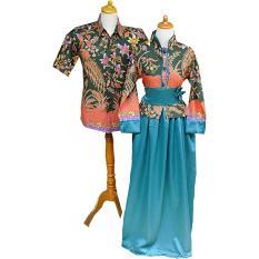 Mayura Batik Couple Gamis Batik Wanita Toska Ed