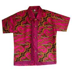 Jual Mayura Batik Kemeja Batik Anak Laki Laki Parang Merah Original