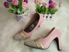 MBI  Sepatu Heels Wanita S-151- Pink