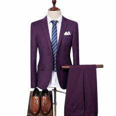 Jual Mc Marllo Setelan Jas Formal Pesta Violet Df 103 Jas Celana Jas Exclusive Jas Fashionable Jas Pesta Unggu Mc Marllo Online
