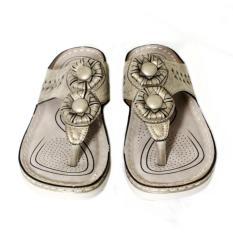 sandal flat wanita / sandal model japit wanita / cocok untuk bepergihan / original merk mecer - Mecer WQH8942ABS7
